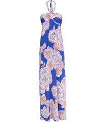abito a fascia fantasia (blu) - bodyflirt boutique