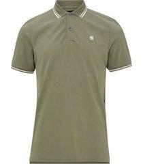 t-shirt dunda slim stripe polo s/s