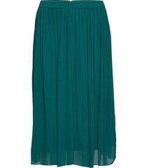 pauline skirt knälång kjol grön lollys laundry