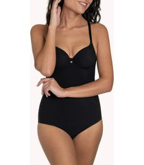 body's lisca bella zwarte voorgevormde bodysuit