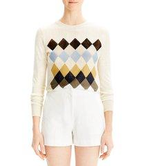 theory women's mini shorts - sea salt - size 10