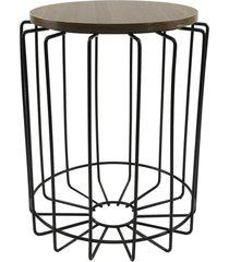 mesa de canto redonda para vasos, objetos, decoração - lojas carisma - kanui