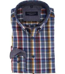 overhemd casa moda geruit comfort fit