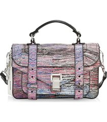 proenza schouler women's ps1 anniversary edition leather satchel - nudity clause