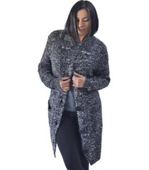 chaqueton lana japeado