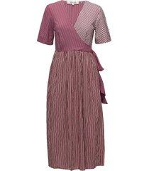 s/s wrap dress knälång klänning multi/mönstrad diane von furstenberg