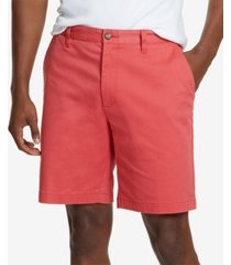 "nautica men's 8.5"" stretch classic-fit deck shorts"
