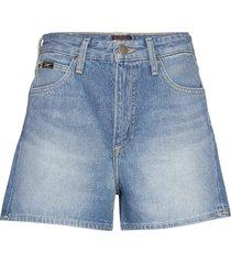 thelma short shorts denim shorts blå lee jeans