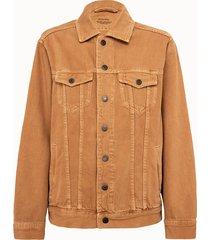 american vintage giacca in denim beige