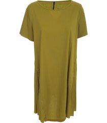 pierantoniogaspari dress s/s popeline w/side inserts