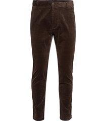 andy x trousers 11046 casual broek vrijetijdsbroek bruin samsøe & samsøe