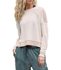 daydreamer colorblock pullover