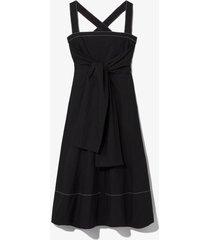 poplin apron dress