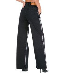 jeans donna a palazzo