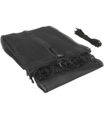 trampoline replacement enclosure safety net, fits for 6' round frames, using 3 arches, with sleeves on top