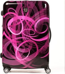 """ful atomic 28"""" expandable spinner rolling luggage suitcase"""