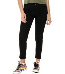 pantalón negro billabong high black skinny