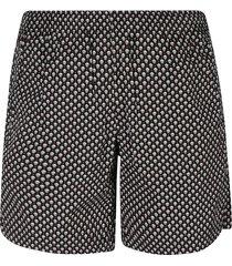 alexander mcqueen dots skull shorts