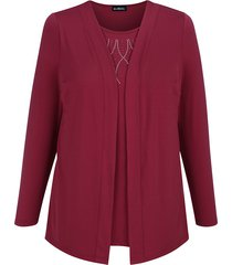 2-in-1-shirt m. collection berry