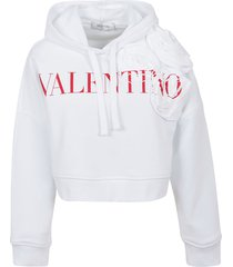valentino sweatshirt rosa atelier edition