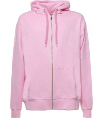 family first milano hoodie flowers pink