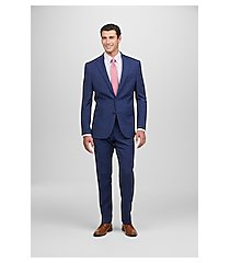 1905 collection slim fit plaid nativa™ men's suit with brrr°® comfort clearance by jos. a. bank