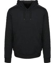 fendi ff tape embossed hoodie