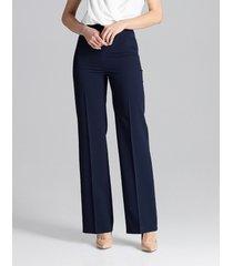 spodnie klasyczne na kant