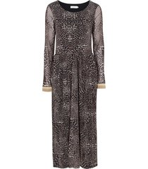 klänning lauren dress, leopardmönstrad