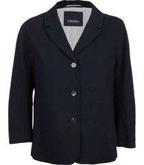 blue viscose jacket
