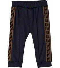 fendi side band pants