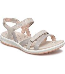 cruise ii shoes summer shoes flat sandals grå ecco