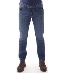 emporio armani j06 slim fit denim jeans - blue 1d7vz941