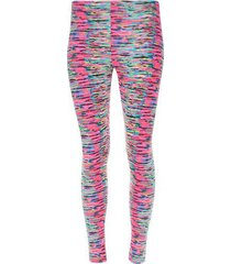 leggings estampado color rosado, talla l