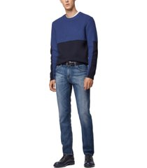 boss men's maine 3 regular-fit jeans