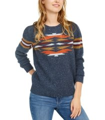 pendleton desert gem printed sweater