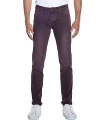 victim pablo jeans bordeaux
