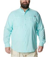 columbia men's big & tall tamiami ii long-sleeve shirt
