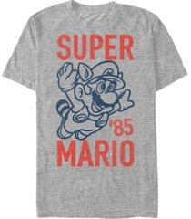 nintendo men's super mario flying raccoon mario short sleeve t-shirt