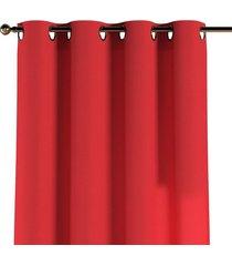 zasłona na kółkach czerwony 130x260cm