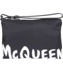 alexander mcqueen pouch with zip