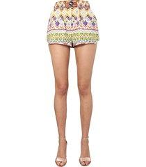 etro printed shorts
