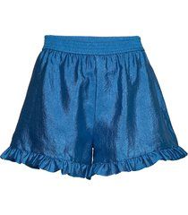 joselyn, 784 textured poly shorts flowy shorts/casual shorts blå stine goya