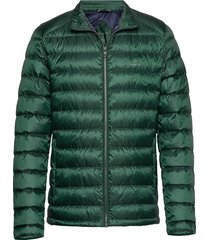 d1. the light down jacket gevoerd jack groen gant