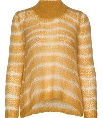 teena gebreide trui geel rabens sal r
