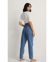 levi's high loose taper jeans - blue
