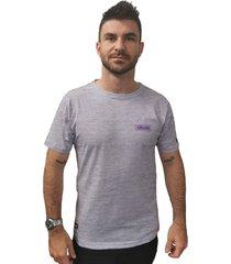camiseta cellos box logo premium mescla - multicolorido - masculino - dafiti