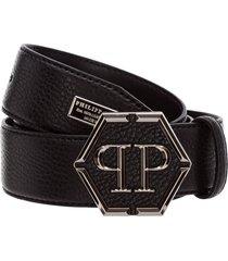 philipp plein hexagon belt
