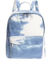 bp. bp large canvas backpack in blue multi at nordstrom