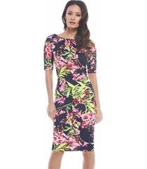 ax paris short sleeved floral dress